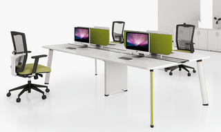 Popular Modern Modular Office Table Desk with Partition (HC-91)