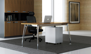 Office Executive Desk Modern Furniture Table with Cabinets (HC-85)