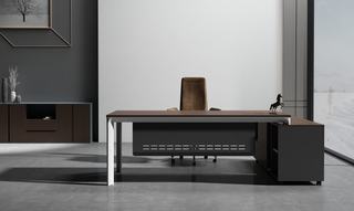 High-End Product Wood Executive Table Office Desk (HC-89B)
