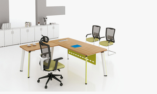 Commerical Modern Office Executive Desk Table Layout Design (HC-91)